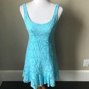 Gorgeous Nanette Lepore blue sundress